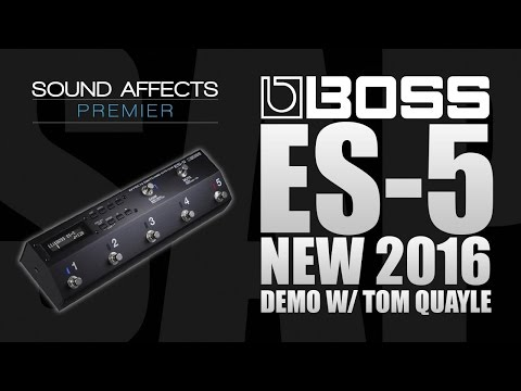 Boss ES-5 Effects Pedal Looper & Switching System