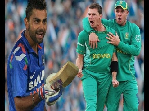 Ind vs SA Fight erupts between Virat and Dale Steyn