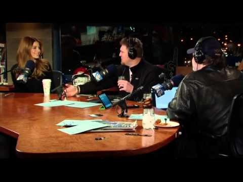 The Artie Lange Show - Maria Menounos ( in-studio) Part 1