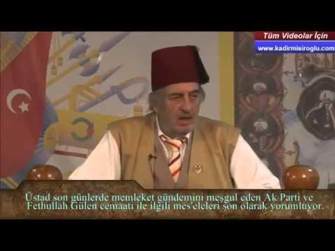(K345) Başbakanı, Fethullah Gülen hakkında çok öncesinde ikaz ettim! - Üstad Kadir Mısıroğlu