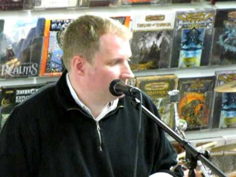 Ethan Van Sciver performs his song,