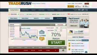 TradeRush 60 Sec. Strategy.From $251.83 To $6757.50 In 1 Week
