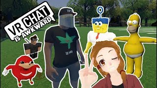 AWKWARD VRCHAT MOMENTS