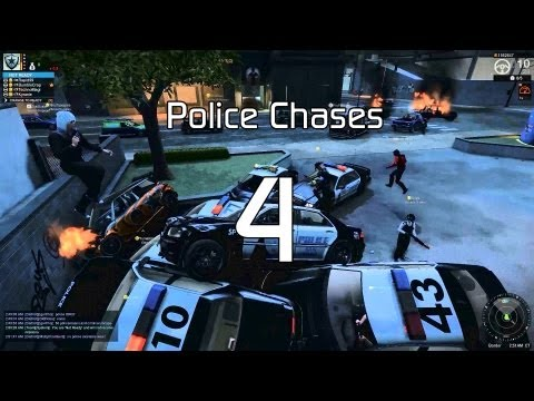 APB: Reloaded - Police Chase 4 (Brolice Maces Door)