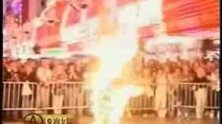Chris Angel On Fire