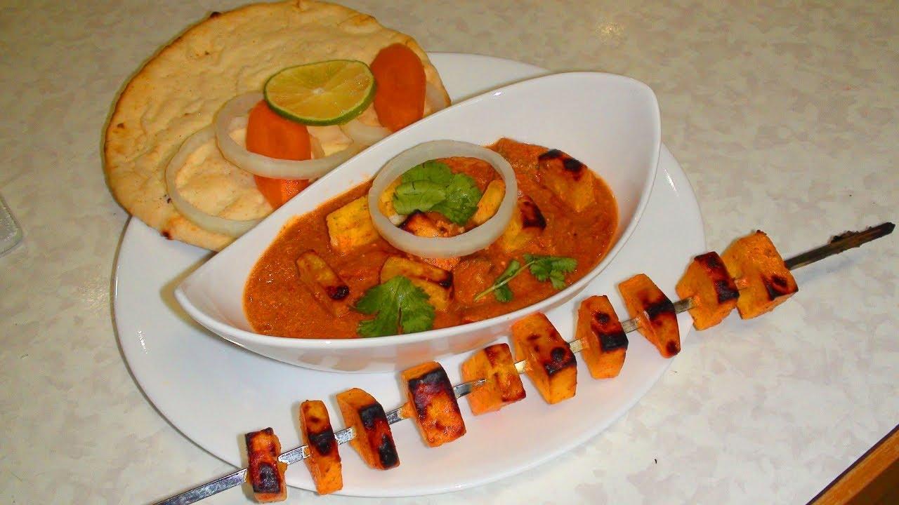 paneer tikka masala video recipe indian recipes by bhavna youtube