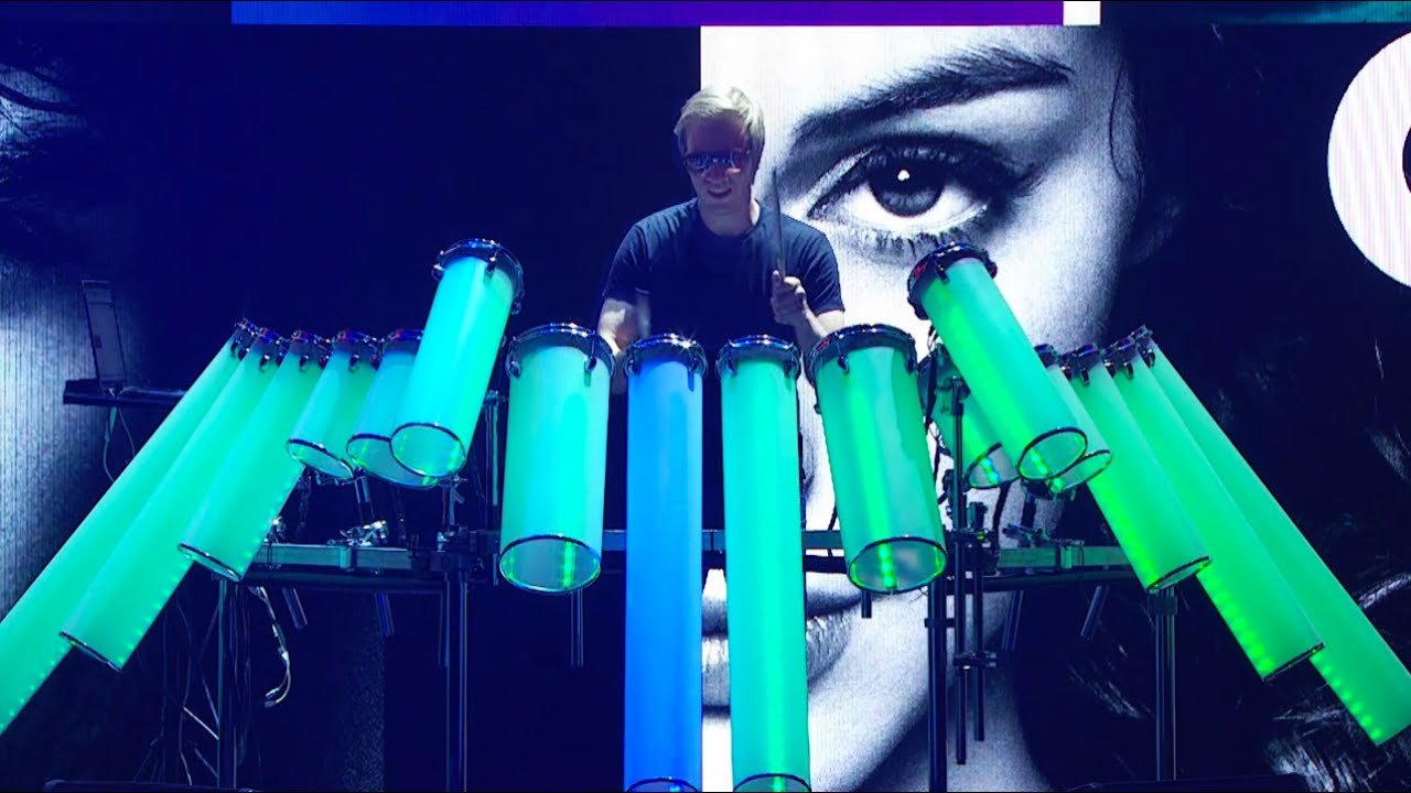Amazing Electronic Drum Kit Afishal Dj Drums Youtube