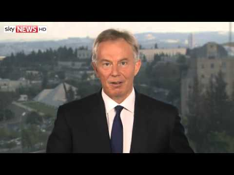 Tony Blair Urges Hamas To Accept Truce
