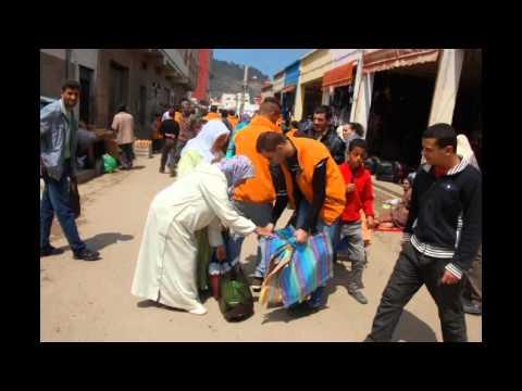 شريط فيديو للمهرجان البيئي 6 والرياضي 8 لجمعية الحي العمالي للتنمية والبيئة بأزغنغان