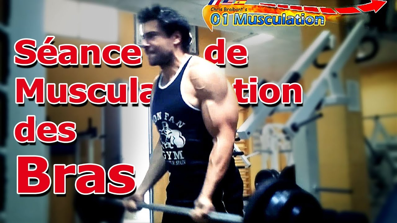 Programme Musculation Bras Biceps Triceps Épaules - YouTube