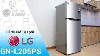 Đánh giá tủ lạnh LG 189 lít GN-L205PS | Điện máy XANH