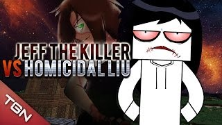 MINECRAFT: JEFF THE KILLER VS HOMICIDAL LIU (MAPA ÉPICO)