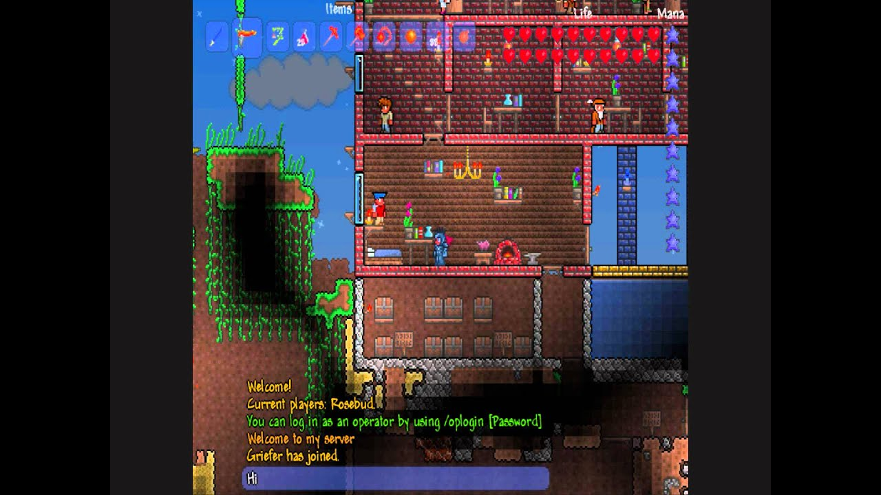 how to set time to night terraria on server