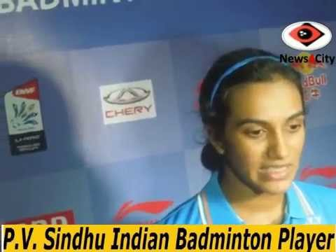 Uber Cup-2014  P.V. Sindhu Indian Badminton Player