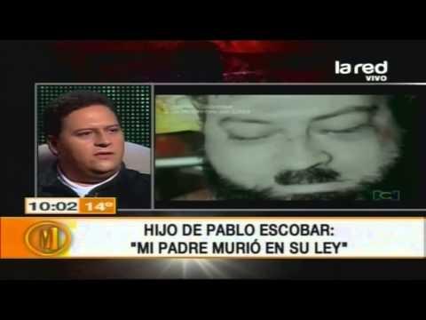 Hijo de Pablo Escobar: