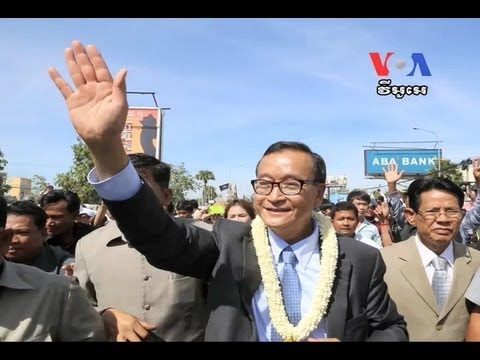 Opposition Leader Sam Rainsy Calls for Justice for Cambodians​