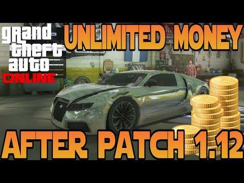 GTA 5 Online : Unlimited Money Glitch After Patch 1.12 - No Wait Time