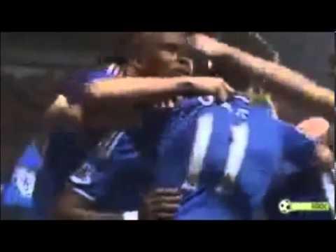 ETO'O célébration but contre Tottenham