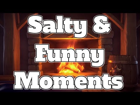Salty & Funny Moments | 1000 Subscribers Special Video | Hearthstone