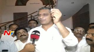 Harish Rao Serious Responce over Chandrababu Naidu and Acham Naidu Comments