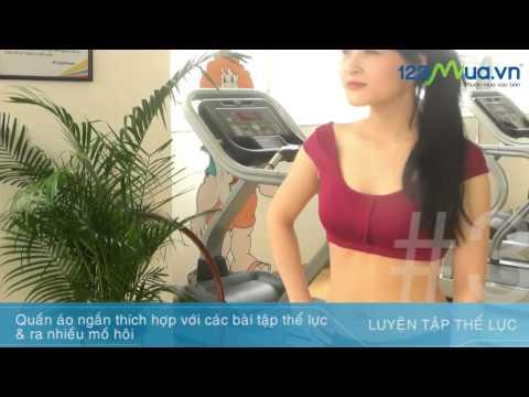 123Mua.vn | My Style | Lựa chọn trang phục thể thao nữ thích hợp