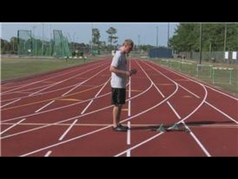 Track Running Tips : How to Start Out of the Blocks