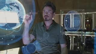 Iron Man 2 (2010) Deleted Scene - Extended New Element Scene