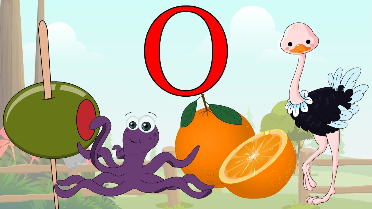 Learn About The Letter O - Preschool Activity