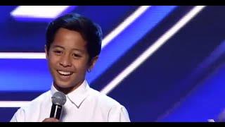 Justin Vasquez The X Factor Australia 2014 AUDITION