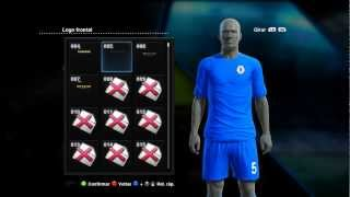 Pes 2013 Como Colocar Uniformes Liverpool, Manchester City