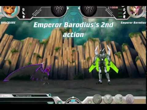 Bakugan Dimensions me vs Emperor Barodius