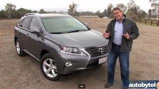 2014 Lexus RX 350 Test Drive Video Review
