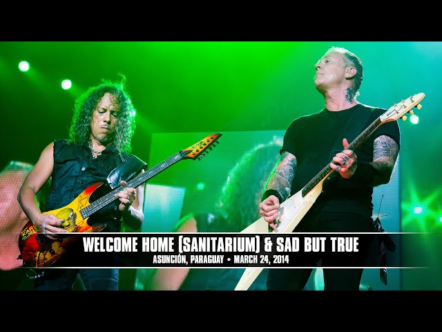 Metallica: Welcome Home (Sanitarium) & Sad But True (MetOnTour - Asunción, Paraguay - 2014)