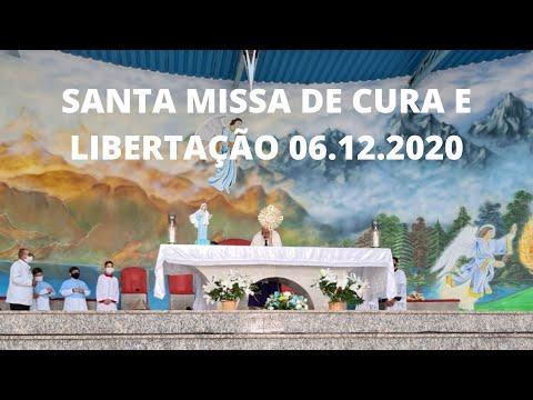 Santa Missa por Cura e Libertação | 06.12.2020 | Domingo | Padre José Sometti | ANSPAZ