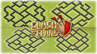 Clash Of Clans 2014 Top 5 Epic TH7 Farming Bases
