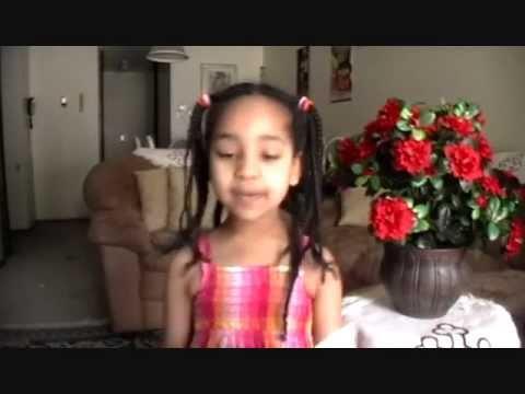 FHLEthiopia - [MUST WATCH] Ras Yalemehon - Little Girl's Amharic poetry