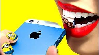 iPhone 100%ĂN ĐƯỢC!!! ĂN VỤNG TRONG LỚP AI LÀ HỌC SINH CẦN BIẾT