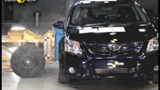 Toyota Avensis kaza testi - Euro NCAP 2009