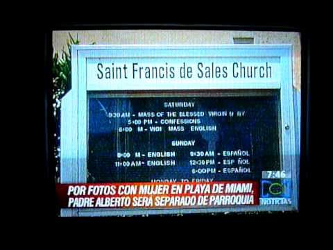 P. Albert Cutie... predica pero no aplica???? RCN COLOMBIA