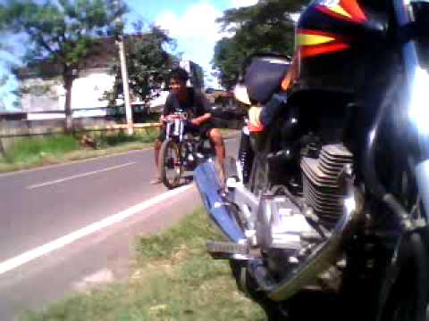 Test Vega Drag 125cc - YouTube