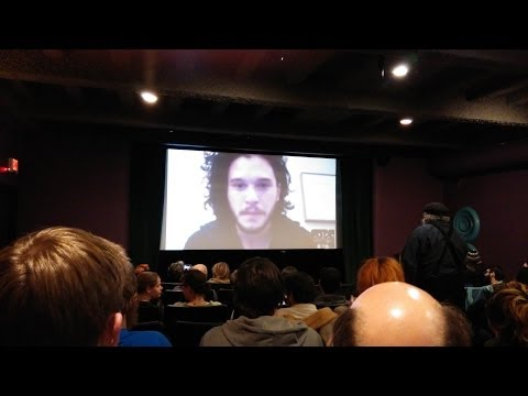 Kit Harington - Interview at Jean Cocteau Cinema, February 19th 2014