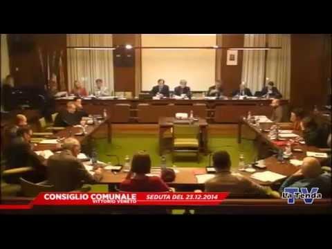 CONSIGLIO COMUNALE VITTORIO VENETO - Seduta del 23.12.2014