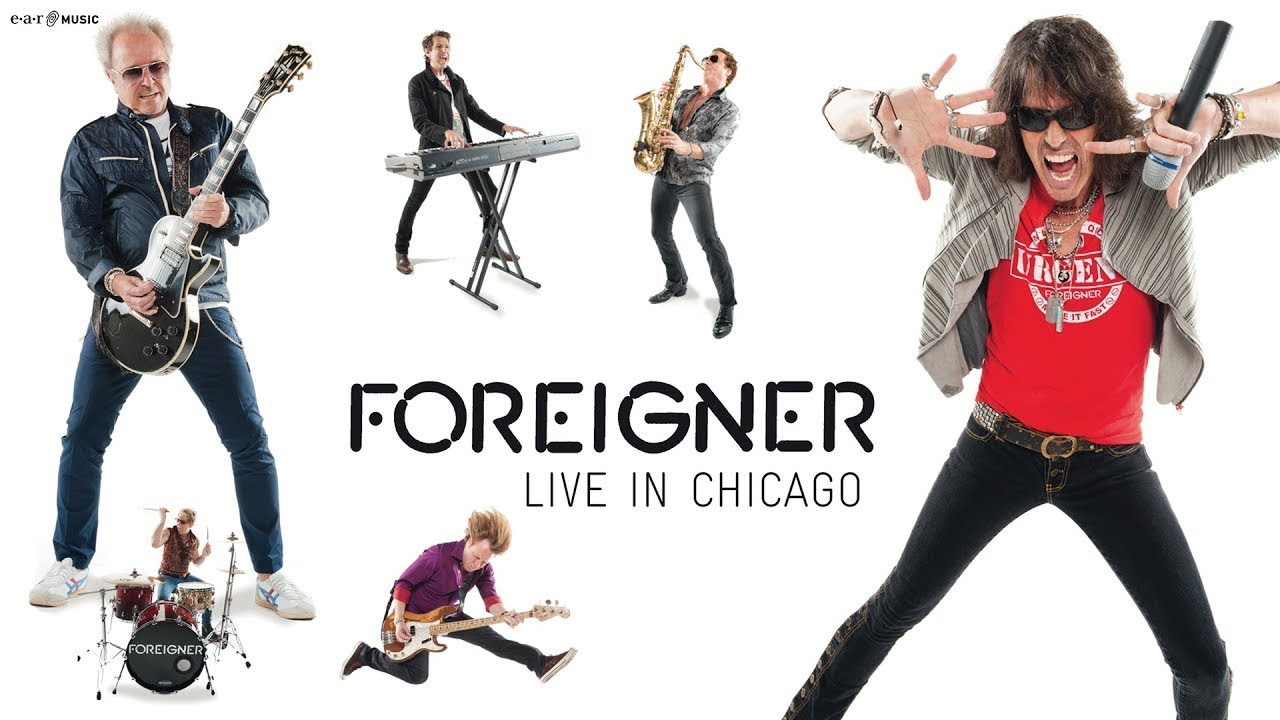 "FOREIGNER ""Waiting For A Girl Like You"" Live from ..."