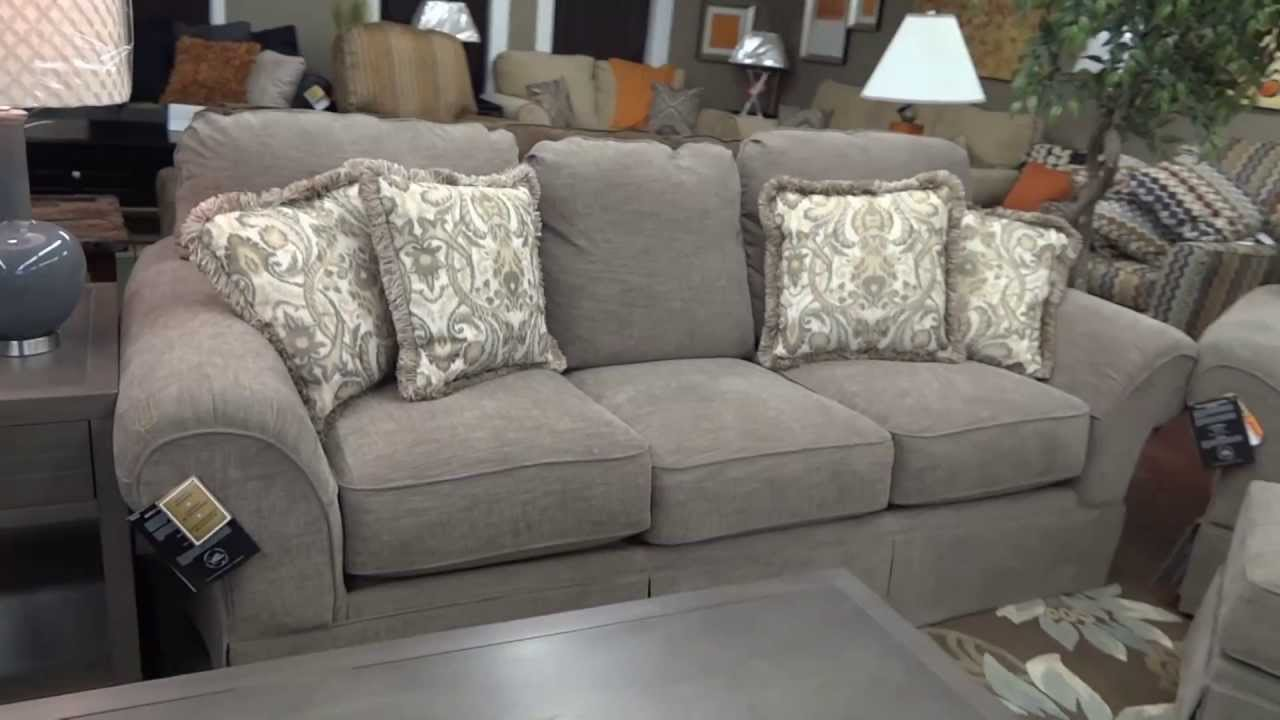 Ashley Furniture Sonnenora Sofa Chair Ottoman 388 Review YouTube