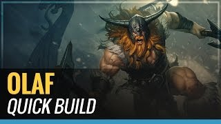 Olaf S4 Quick Build League Of Legends