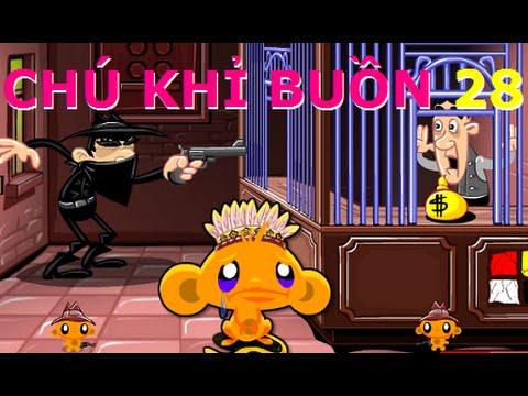Game Chú khỉ buồn 28 - Video hướng dẫn chơi game