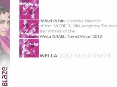 Israeli Winner of the WELLA TREND VISION 2012