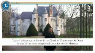 15th century medieval castle for sale in France