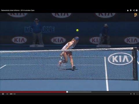 Agnieszka Radwanska's brilliant tennis - 2014 Australian Open