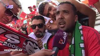 لموت ديال الضحك مع مغربي مشا يتفرج فالماتش ديال المنتخب فأبيدجان و دا معاه المرقة و الدجاج محمر |